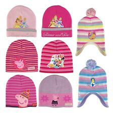 Peppa Pig Official Licensed Girls Pink Winter Fluffy Fleece Trapper Hat Age 1-3 Years