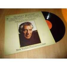 LEONARD BERNSTEIN / CHRISTA LUDWIG Des Knaben Wunderhorn MAHLER CBS 61825 Lp 78