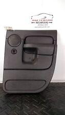 2004 DODGE RAM PICKUP 1500 Passenger Right Rear Door Trim Panel  Slate Gray DV