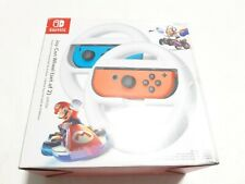 Nintendo Switch OEM JoyCon Steering Wheels (HACABG2AB) for MarioKart8 New OpnBox