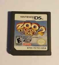 Zoo Tycoon 2 DS (Nintendo DS, 2008) Tested - Working