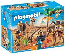 Playmobil history tomb raider le camp 5387