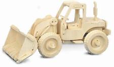 Bulldozer en bois 3D Kit de modélisation Modèle Jigsaw Puzzle