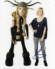 KRISTEN WIIG HOW TO TRAIN YOUR DRAGON AUTOGRAPHED PHOTO SIGNED 8X10 #3 RUFFNUT