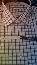 "Van Heusen Wrinkle Free Classic Fit Dress Shirt ""Licorice ""  151/2 32/33 NWT"