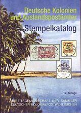Deutsche Kolonien und Auslandspostämter Stempelkatalog, neu