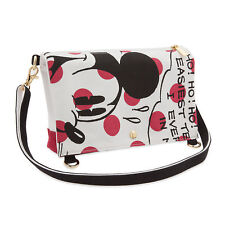 Disney Store Deluxe Minnie Mouse Canvas Shoulder Bag Womens Purse Cute Gift NWT