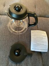 Medelco 12 Cup Glass Millenium Style  Replacement Carafe #GL312