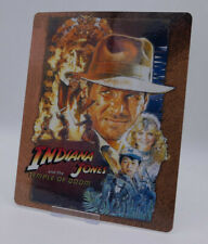 INDIANA JONES Temple of Doom - Bluray Steelbook Magnet Cover (NOT LENTICULAR)