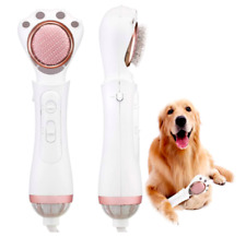 Petaum 2 in 1 Premium Pet/Cat/Dog Grooming Hair Blow Dryer w/Slicker & Pin Brush