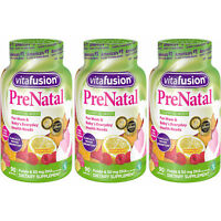 3 Pack - Vitafusion PreNatal Multivitamin Adult Gummies - 90 Count Each
