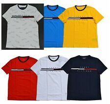 NWT Men's Tommy Hilfiger  Short-Sleeve Tino Tee (T) Shirt Color Block