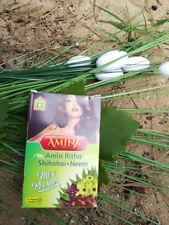 Mélange de poudres 100% naturelles Amla +Reetha +Shikakai +Neem 80gr AMINA