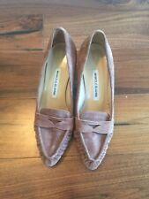 Nuevo y auténtico Manolo Blahnik Zapatos Talla 37