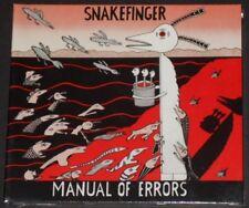 SNAKEFINGER manual of errors EUROPE CD 2017 new sealed digipak THE RESIDENTS