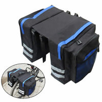 Bicycle Bike Rear Seat Saddle Bag Cycling Storage Pannier Trunk Rack Multi-bag