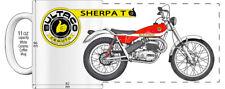 "BULTACO SHERPA T MOTORCYCLE ""HIGH DETAILED"" IMAGE COFFEE MUG"