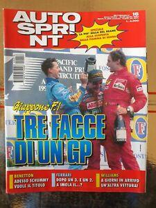 Autosprint 16 1994 Williams in arrivo un'altra vettura. Benetton e Schummi SC.55