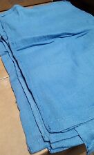 50 PREMIUM BLUE HUCK TOWELS GLASS CLEANING JANITORIAL LINTLESS SURGICAL TOWELS!!