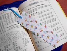 Bookmark Fabric or Cloth Ice Cream Desserts Themed Handmade