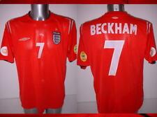 England David BECKHAM Football Soccer Shirt Jersey Uniform UMBRO S M L XL 2XL A