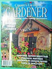 Vintage Fall 1995 Country Living Gardener Magazine