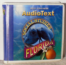 Scott Foresman SS Florida Audio Text, Teacher Res, quiz show +  -Free shipping.