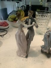 Lladro 1372 Anniversary Waltz Dancing Couple Porcelain Figurine Retired