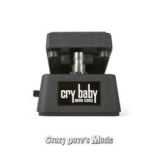 Dunlop Mini 535Q Cry Baby Wah Guitar Effects Pedal