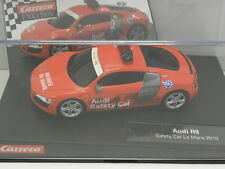 Carrera 27385 Evolution Slot Car Audi R8 Safety Car Le Mans 2010  M.1:32