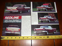 1957 FORD SKYLINER McCULLOUGH SUPERCHARGER  - ORIGINAL 1993 ARTICLE