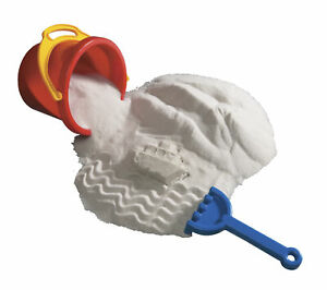 Sandtastik Sparkling Play Sand, 25 Pounds, White