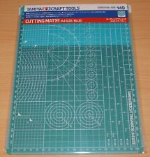 Tamiya 74149 Cutting Mat α (A4 Size/Blue) for RC & Plastic Kits, NIP