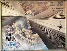 Cinema Poster: WALK, THE 2016 (Main Quad) Joseph Gordon-Levitt Charlotte Le Bon