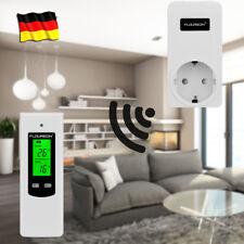 LCD Funk Thermostat Stecker Raumthermostat RF Steckdosenthermostat Schaltzeituhr