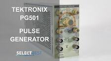 Tektronix Pg501 5 Hz To 50 Mhz 20 Ns To 20 Ms Pulse Generator Look Ref G