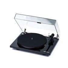 Pro-Ject Plattenspieler Essential III Bluetooth Schwarz + Haube + Ortofon OM10