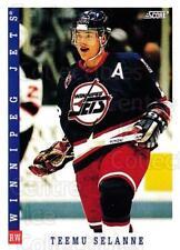 1993-94 Score Canadian #331 Teemu Selanne