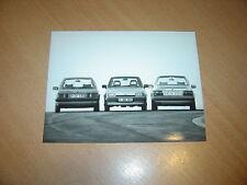 PHOTO DE PRESSE ( PRESS PHOTO ) Ford Escort , Orion & Fiesta 1.6 D de 1985 F0038