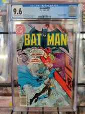 BATMAN #314 (1979) - CGC GRADE 9.6 - TWO-FACE, KING FARADAY & SELINA KYLE APP!