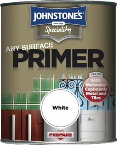 Johnstones Speciality Any Surface Primer Paint 250ml/750ml White