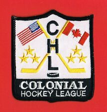 Colonial Hockey League CHL AUTHENTIC Minor League Patch