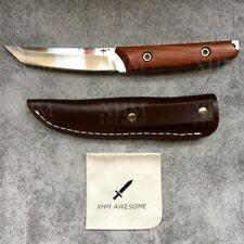 XHM 8.7'' Fixed Blade Knife Tactical Tanto Hunting Camping Bayonet Boot Knives