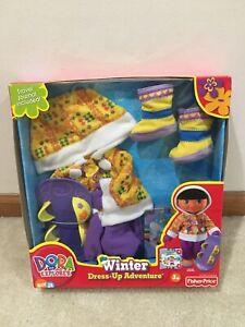 Dora The Explorer Winter Dress Up Fashion Pack Nick Jr. New & Sealed