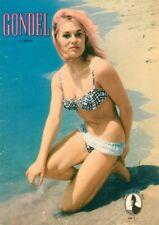 GONDEL - Zeitschrift Magazin - Heft 165 von 1962 - Models Musik Stories - B16575