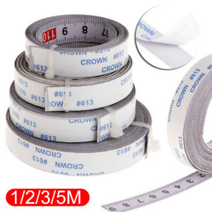 For Miter Saw Self Adhesive Track Tapes Metric Rulers Scale Ruler Tape Measure l