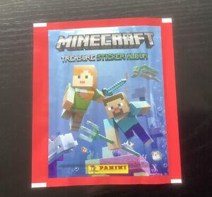 Panini Minecraft Treasure Sticker Collection - 10 new packs