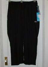 New listing Nwt Scrub Zone By Landeau Black Elastic Waist Classic Fit Cargo Scrub Pants 3Xl