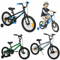 Kids Bike Girls Boys Bicycle With Training Wheels Ride On Outdoor (4-8 Years) AU
