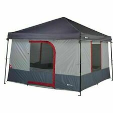6-Person 10x10ft ConnecTent For Straight Leg Canopy (Canopy Not Included)
